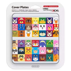 NINTENDO New 3DS Covers van Animal Crossing Happy Home ...