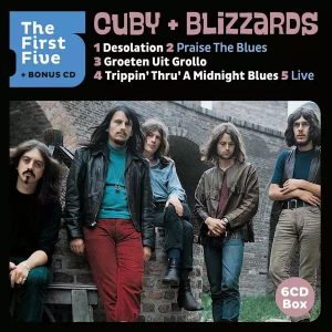Cuby+blizzards - THE FIRST FIVE | CD