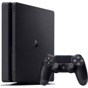 SONY Playstation 4 (Slim) 500 GB + PlayStation Now (12 ...