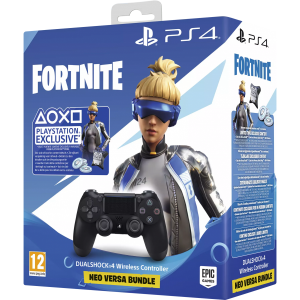 SONY Dualshock4 Zwart + Fortnite