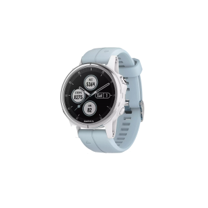 GARMIN Fenix 5S Plus Blauw/Wit