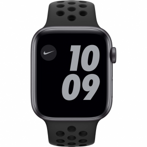 Apple Watch Nike Series 6 44mm Space Gray Aluminium Zwa...