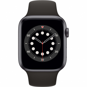 Apple Watch Series 6 44mm Space Gray Aluminium Zwarte S...