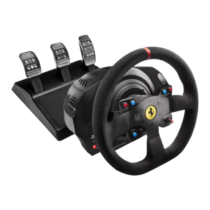 THRUSTMASTER T300 Ferrari Integral Racing Wheel Alcanta...