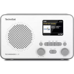 TECHNISAT TECHNIRADIO 6 IR, white grey