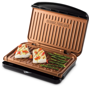 GEORGE FOREMAN Fit Grill Medium 25811-56 Copper