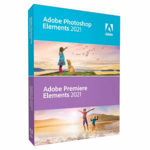 Adobe Photoshop & Premiere Elements 2021 (Frans, Window...
