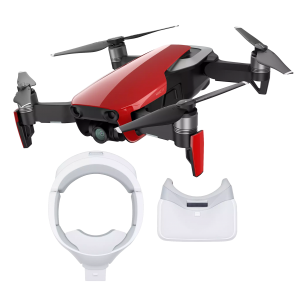 DJI Mavic Air Flame Red + Goggles