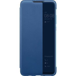 HUAWEI P30 Lite Smart View Cover Blauw