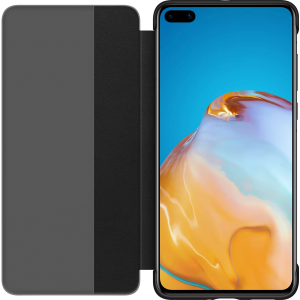 HUAWEI P40 Smart View Flip Cover Zwart