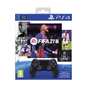 Sony PS4 Wireless Dualshock 4 V2 Controller + FIFA 21 (...