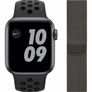 Apple Watch Nike SE 40mm Space Gray Aluminium Zwarte Sp...