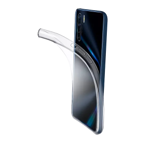 CELLULAR-LINE Fine Case voor OPPO A91/Reno3 Transparant