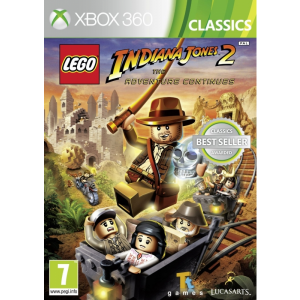 Lego Indiana Jones 2 The Adventure Continues (Classics)