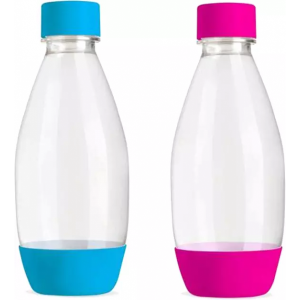 SODASTREAM Bottles Fuse Pink + Light Blue