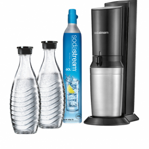SODASTREAM Crystal Black Mega Pack