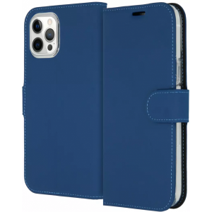 ACCEZZ Booklet Wallet iPhone 12 Pro Max Blauw