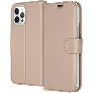 ACCEZZ Booklet Wallet iPhone 12 Pro Max Goud