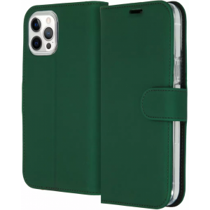 ACCEZZ Booklet Wallet iPhone 12 Pro Max Groen