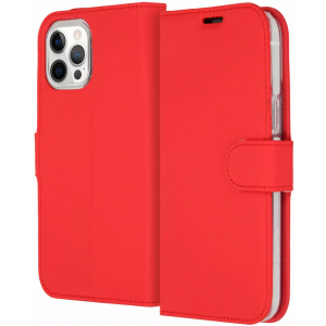 ACCEZZ Booklet Wallet iPhone 12 Pro Max Rood