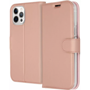 ACCEZZ Booklet Wallet iPhone 12 Pro Max Rosé