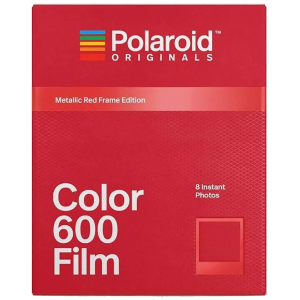 POLAROID ORIGINALS Metallic Red Frame Instant Film